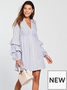 v-by-very-stripe-shirt-dress