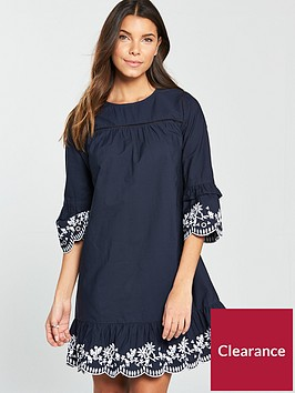 v-by-very-embroided-smock-dress