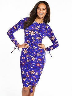 v-by-very-ity-ruched-bodycon-midi-dress-floral-print