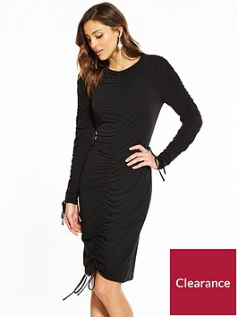 v-by-very-ity-ruched-bodycon-midi-dress-black