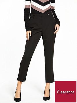 wallis-petite-zip-front-trouser