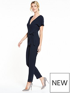 v-by-very-wrap-jumpsuit-navy