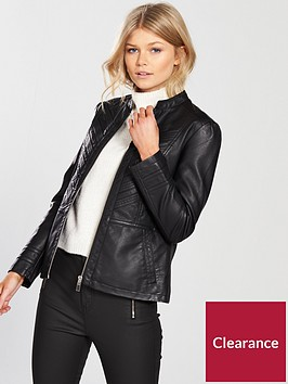wallis-petite-multistitch-jacket
