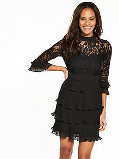 v-by-very-lace-bodice-pleated-skirt-dress-black