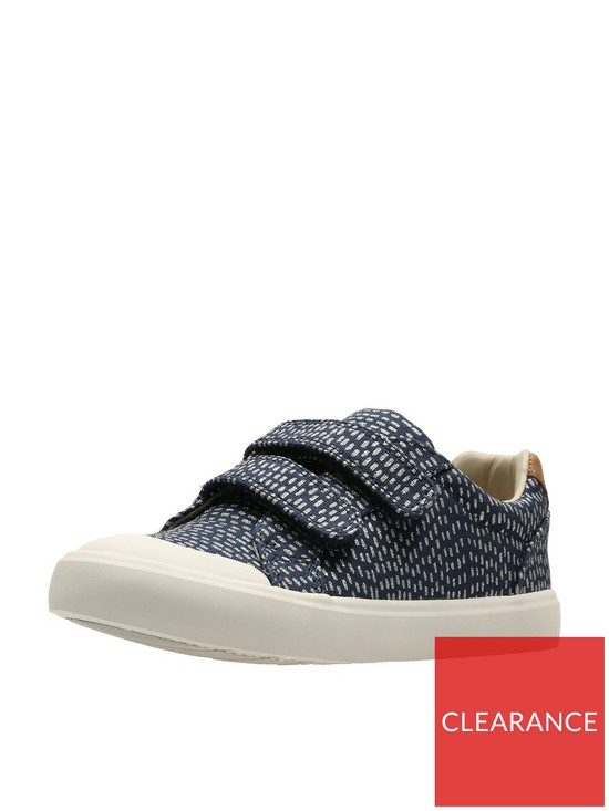 65fa62aab Clarks Baby Girls Comic Cool Shoes - Navy