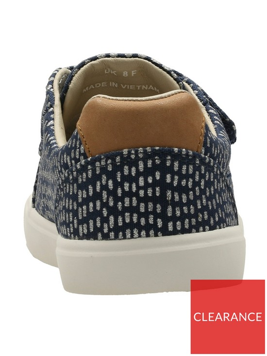 e7b765542 ... Clarks Baby Girls Comic Cool Shoes - Navy. View larger