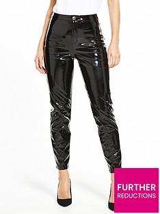 miss-selfridge-vinyl-trouser