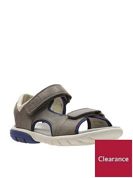 clarks-boys-rocco-wave-sandals-brown