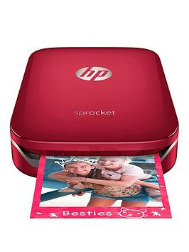 Hp Sprocket Portable Photo Printer - Red - Sprocket Only