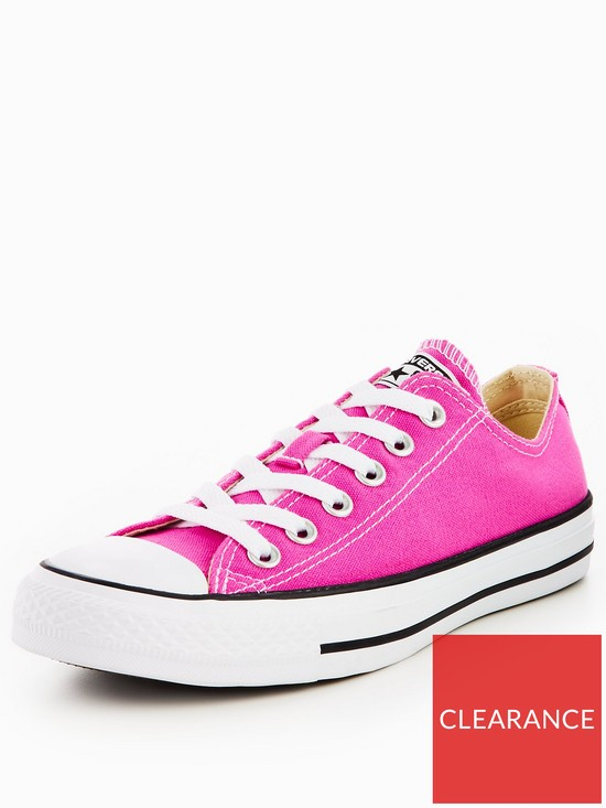 f5eb45050b0ed8 Converse Chuck Taylor All Star Ox - Bright Pink