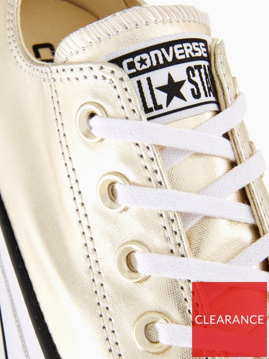 5f02a479f1eadd ... Converse Chuck Taylor All Star Lift Platform Ox - Gold. View larger