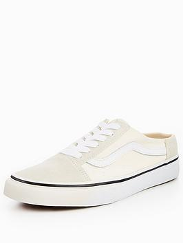 Vans Old Skool Mule - White