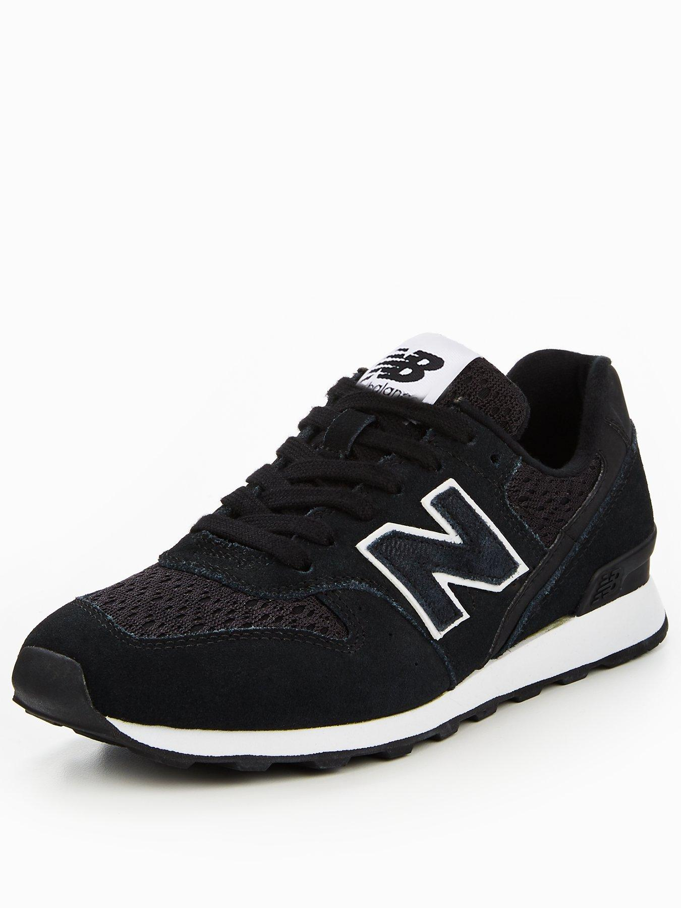 new balance 996 all black