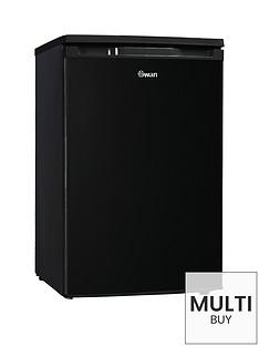 swan-sr70180b-55cm-wide-under-counter-freezer-black