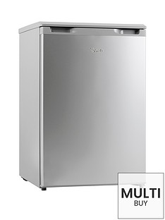 swan-sr70180s-55cmnbspwide-under-counter-freezer-silver