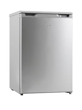 Swan Sr70180S 55Cm Wide Under-Counter Freezer - Silver