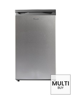 swan-sr70190s-50cmnbspwide-under-counter-larder-fridge-silver