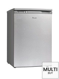 swan-sr70200s-55cmnbspwide-under-counter-larder-fridge-silver