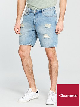 jack-jones-jack-amp-jones-intelligence-rick-ripamprepair-denim-shorts