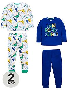 mini-v-by-very-boys-2-pack-dinosaur-roarsome-pjs
