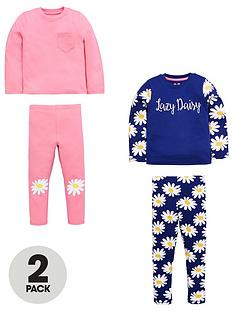 mini-v-by-very-girls-2-pack-daisy-and-pink-pyjamas
