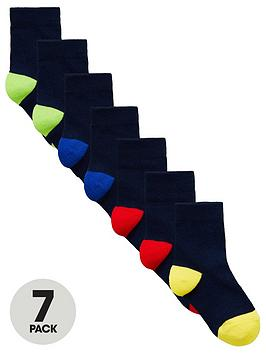 mini-v-by-very-boys-7-pack-colour-heel-and-toe-socks