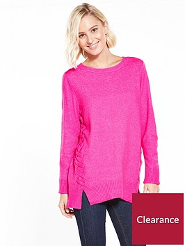 wallis-whipstitch-compact-jumper