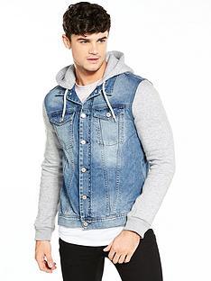river-island-scale-hybrid-denim-jacket