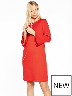 wallis-flute-sleeve-ponte-dress