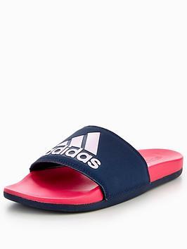 adidas-adilette-cloudfoamnbspsliders-pinknavynbsp