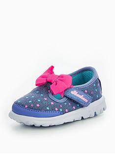 skechers-go-walk-bitty-bow-star-shoe