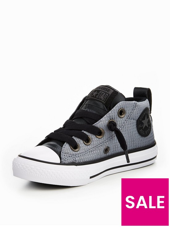 4356e9c130fe Converse Converse Chuck Taylor All Star Street Back Pack Textile Mid  Childrens Trainer