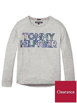 tommy-hilfiger-girls-flock-logo-long-sleeve-t-shirt