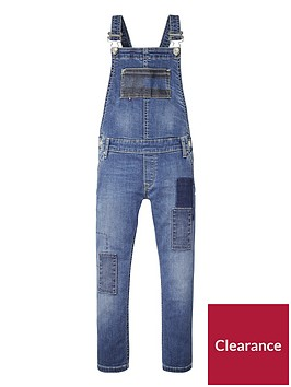 tommy-hilfiger-girls-straight-leg-dungaree