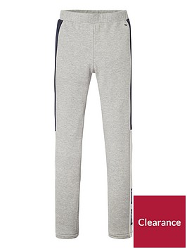 tommy-hilfiger-girls-logo-legging-grey-heather
