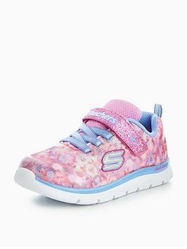 skechers-girls-skech-lite-blossom-cutie-trainer