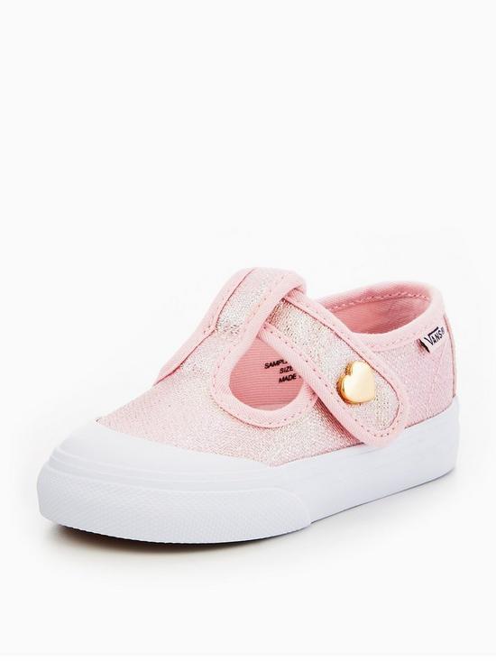 vans infant pink
