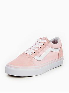 Vans UY Old Skool Childrens Trainers - Pink 6178d623a