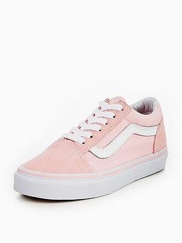 vans-uy-old-skool-childrens-trainers-pink