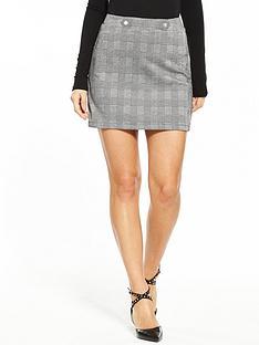 v-by-very-jersey-check-mini-skirt