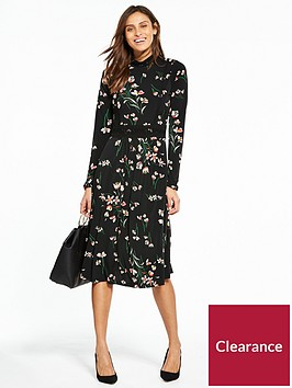 v-by-very-floral-crochet-jersey-midi-dress