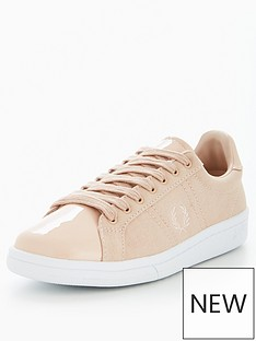 fred-perry-fred-perry-b721-canvas-amp-patent-trainer