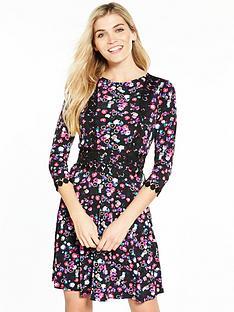 v-by-very-crochet-trim-skater-dress