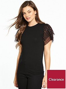 v-by-very-pleated-star-sleeve-t-shirt