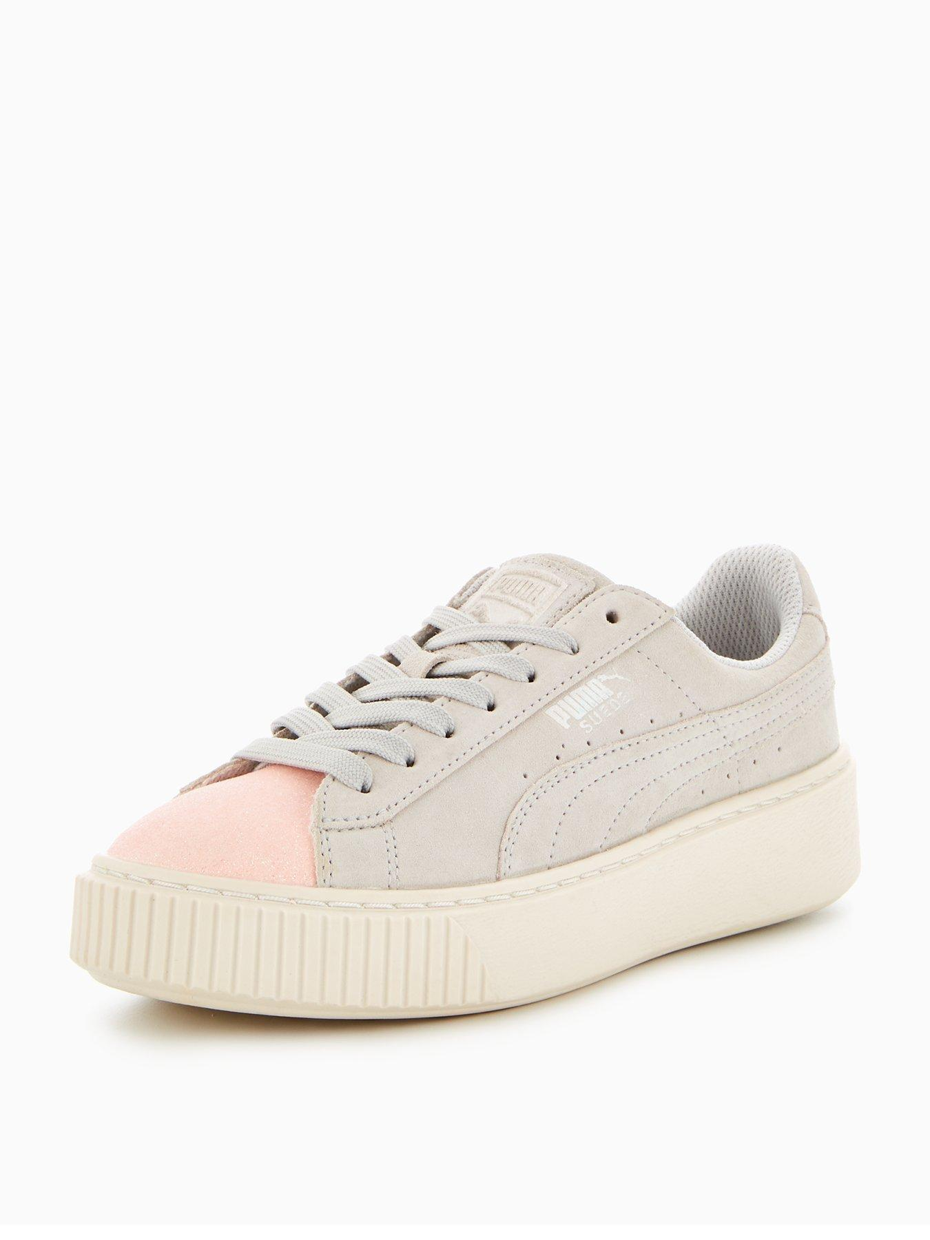 white and pink puma shoes girls 11th karaoke