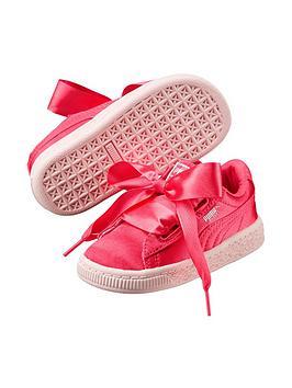 puma-puma-basket-heart-tween-childrens-trainer