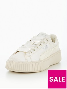 puma-puma-basket-platform-tween-childrens-trainer