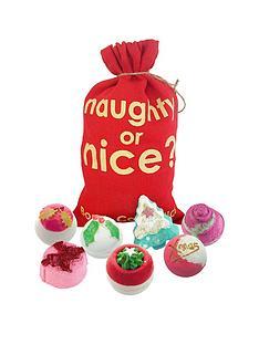 bomb-cosmetics-bomb-cosmetics-naughty-or-nice-bath-bomb-sack-gift-set