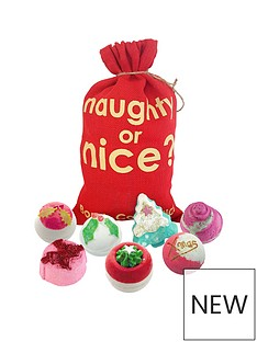 bomb-cosmetics-bomb-cosmetics-naughty-or-nice-bath-bomb-sack-gift-set