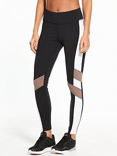 reebok-lux-colourblock-tight-blacknbsp